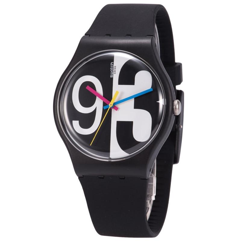 Swatch watches the original colorful series of quartz men and women watch SUOB141 swatch original colorful quartz watch suob135