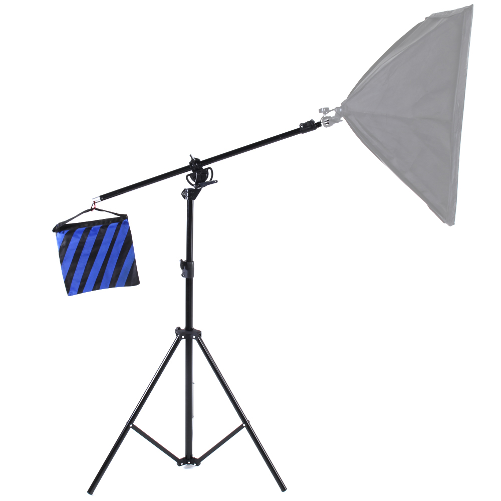 ASHANKS 2.8M Light Stand as Boom Arm stand 2 in 1 Multi-function Top Light Stand Kits for Camera Fotografica Video Lighting 6KG ashanks photography 2 in 1 3m top light stand as boom arm stand large lamp holder kits for photo studio light softbox load 8kg