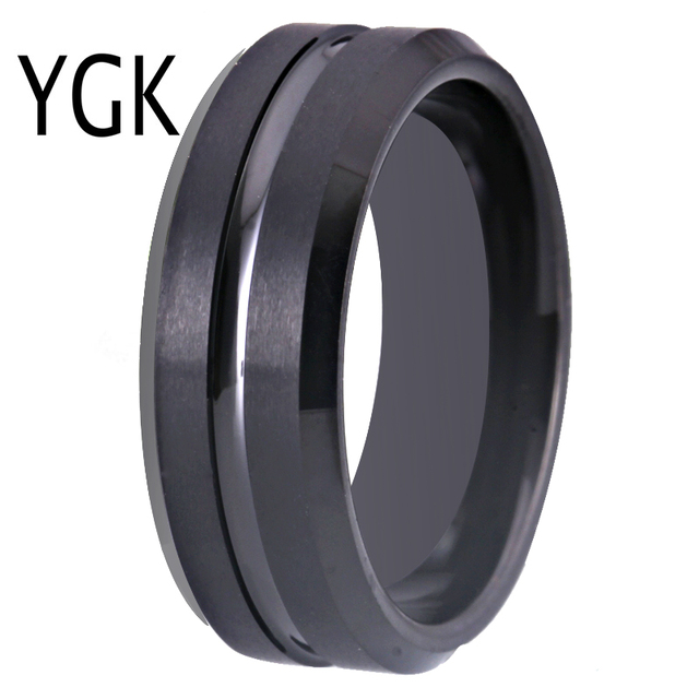 Ygk Wedding Jewelry New Tungsten Rings For Men S Bridegroom Wedding