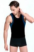 Hot Neoprene Shaper Men S Slimming Body Shaper Vest Shirt Abdomen Belly Posture Slim Waist Trainer
