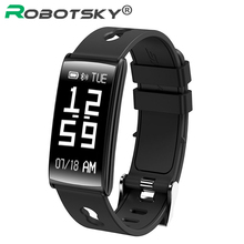 Bluetooth 4.0 Smart Band Heart Rate Blood Pressure Monitor Smart Bracelet IP67 waterproof Smartband For Android IOS Wristband