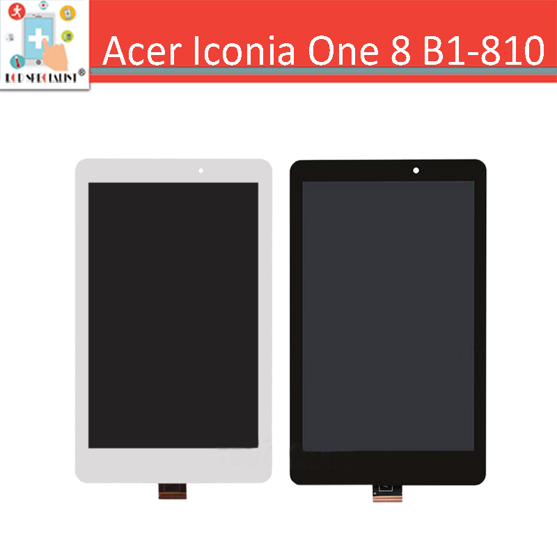 2 Versions!! 8 inch For Acer Iconia Tab 8 B1-810 LCD Display Touch Screen Digitizer Sensor Glass Assembly B1 810 Replacement