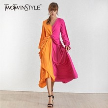 Sleeve Hit Fashion Dress
