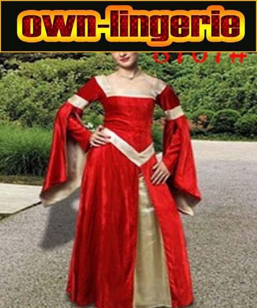 Femme Lolita, vestido Renaissance médiévale Costume mythique femme Lolita robe