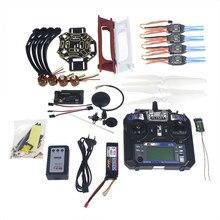 Full Set RC Drone Quadrocopter 4-axle Aircraft Kit F450-V2 Frame GPS APM2.8 Flight Control Flysky FS-i6 Transmitter  F02192-Y