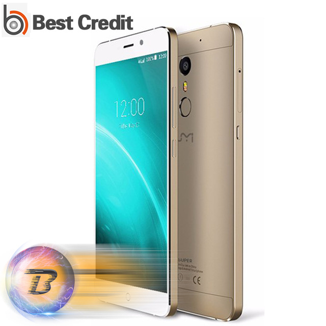 """Original UMI Super Mobile Phone 4G LTE 5.5"""" FHD MTK6755 Octa Core 4G RAM 32G ROM Android 6.0 4000Mah 13.0MP Touch ID"""