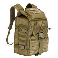 40L Army Tactical Laptop Backpacks Military 3P Tactics Backpack Molle System Outdoor Travel Hiking Camping Sports