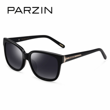 PARZIN Brand Polarized Sunglasses Men & Women Lovers Classic Retro Plastic Titanium Frame Shield Anti UV400 High Quality 9601