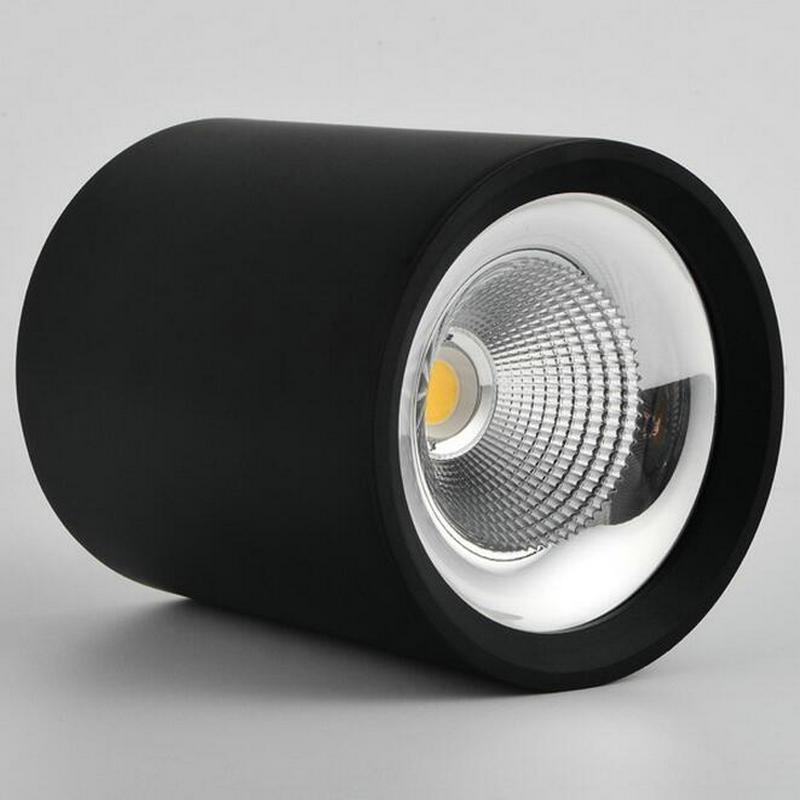 LED COB downlight Dimmable 5W 7W 10W 15W 20W 30W 40W 50W 60W dimming LED Spot light led ceiling lamp AC110V 220V230V 240V