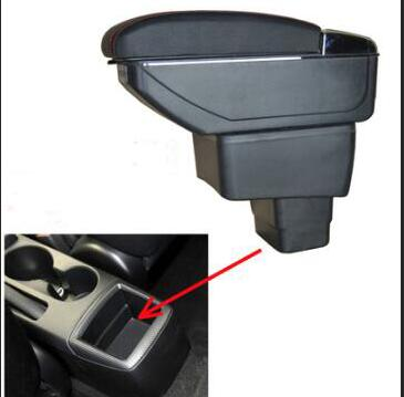 For mazda CX 3 skyactiv version armrest box central Store content box with cup holder ashtray USB cx 3 armrests box cx3
