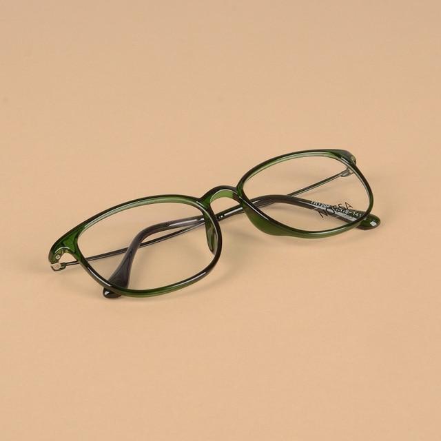 b8c12436bb5 Hot Sale TR90 Elegant Optical Glasses Frames Men Women Green Clear Fashion  Female Male Eyewear Trendy
