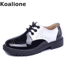 Kids Patent Leather Shoes Baby Girls Toddler Shoes Children