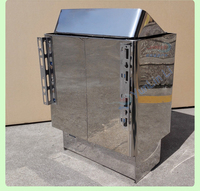 Sauna Stove for Shower 9KW Bath Steam Oven Internal Control Heating Furnace Sauna Equipment