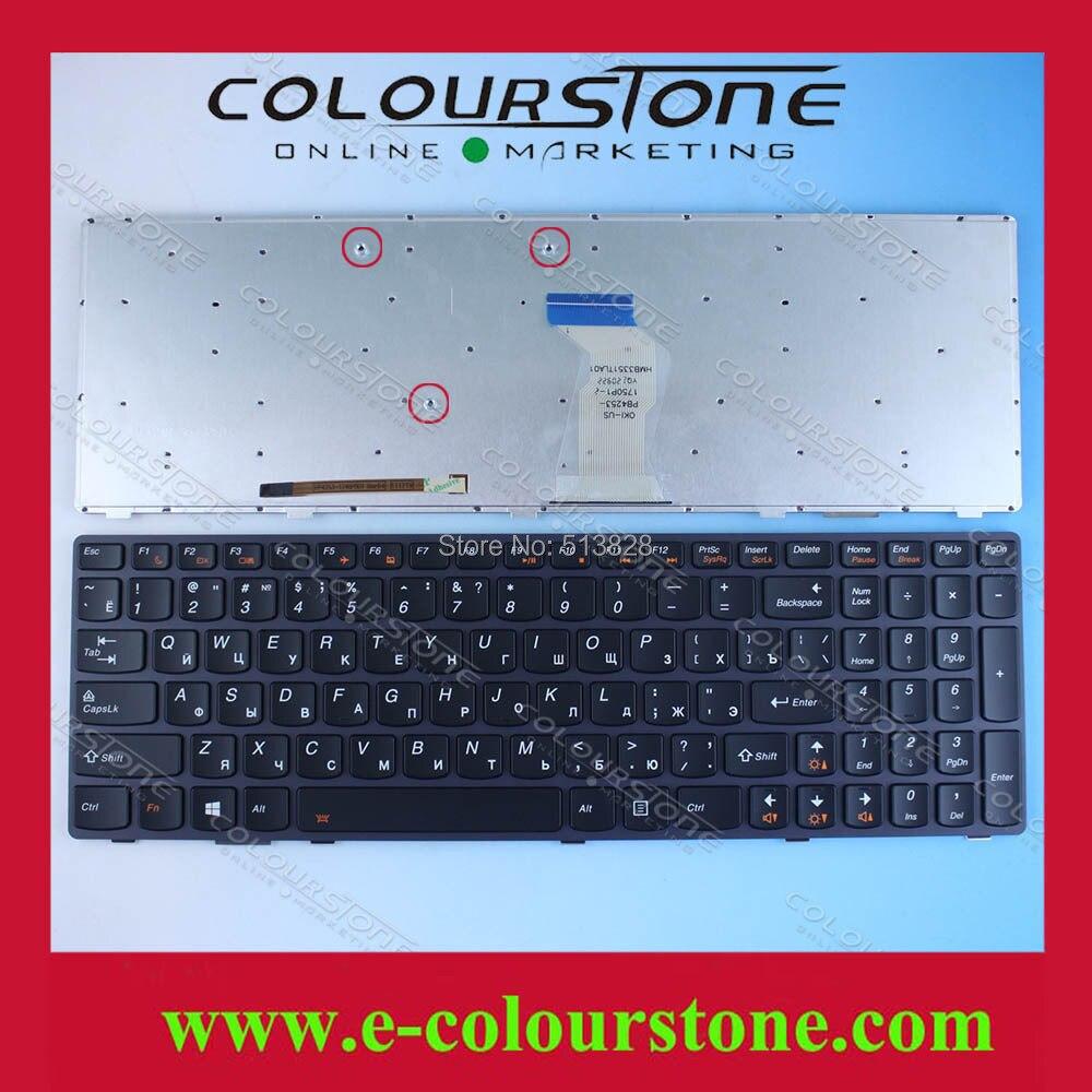 RUSSIA Laptop keyboard for Lenovo Ideapad T4B8 Y580 Y580N Y580NT laptop Keyboard black backlit Russian in stock