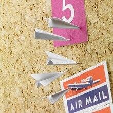 Креативные канцелярские принадлежности моделирование самолет милый большой палец ТЭК школы студентов офиса новые продукты 136