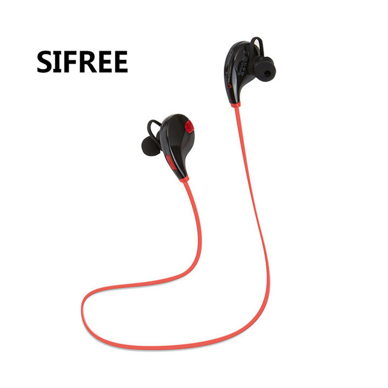 SIFREE QY7 Bluetooth Stereo Headphones Wireless sport Earphone Bass Music Headset Handsfree Phone Earbuds With Mic PK G6 q2 mini bluetooth headset stereo wireless earphone headphones music car driver headset stealth earbuds mic with charging socket