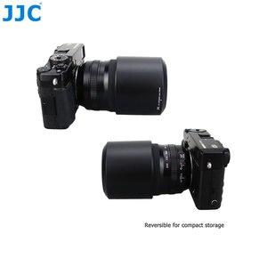 Image 3 - JJC عدسة هود ل فوجي فيلم XF 55 200 مللي متر F3.5 4.8R LM OIS عدسة على X T4 X T200 X A7 X T20 يستبدل FUJIFILM 55 200 مللي متر عدسة الظل