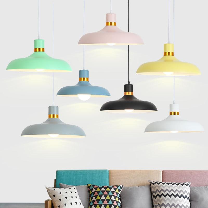 Modern Pendant Light Aluminium Hanging Pot Pendant Lamp Restaurant Dining Room Drop Pendant Light Home Lighting (13)