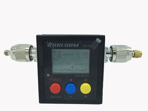 Image 3 - اسلكية تخاطب الاكسسوارات 125 525mhz SURECOM SW 102 مع 2 قطعة RF محول Baofeng راديو اسلكية تخاطب الطاقة SWR متر SW102