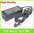 12 В 3A ноутбук AC адаптер питания зарядное устройство для Asus Eee PC 900A 900 H 901 904 1000 1002 1003HA MK90H 1000 H 900HA