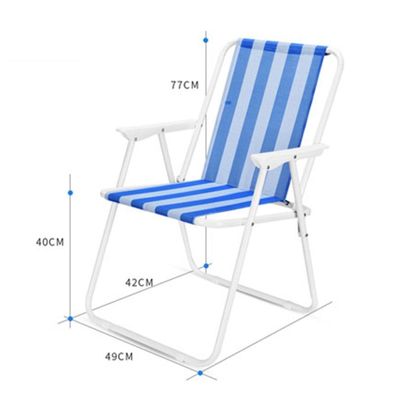 Nouveau Pliant Pêche Chaise Siège pour Camping En Plein Air Loisirs Pique Nique Chaise Chaise De Plage dans Chaises de plage de Meubles