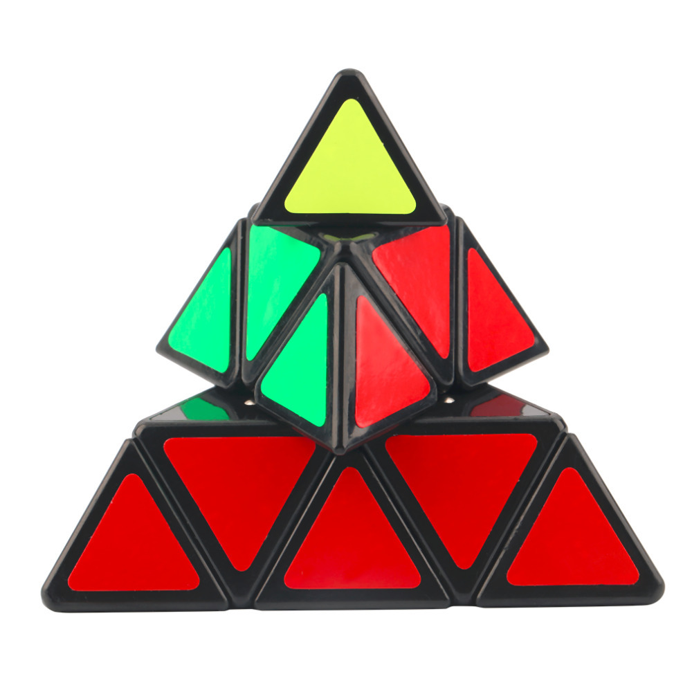 Hot! Pyraminx Triangular Magic Cubes Pyramid Shaped Speed Magic Puzzle Cube DIY Educational Toys for Children Adult Gift