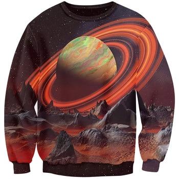 Galaxy 3D Full Print Sweatshirt