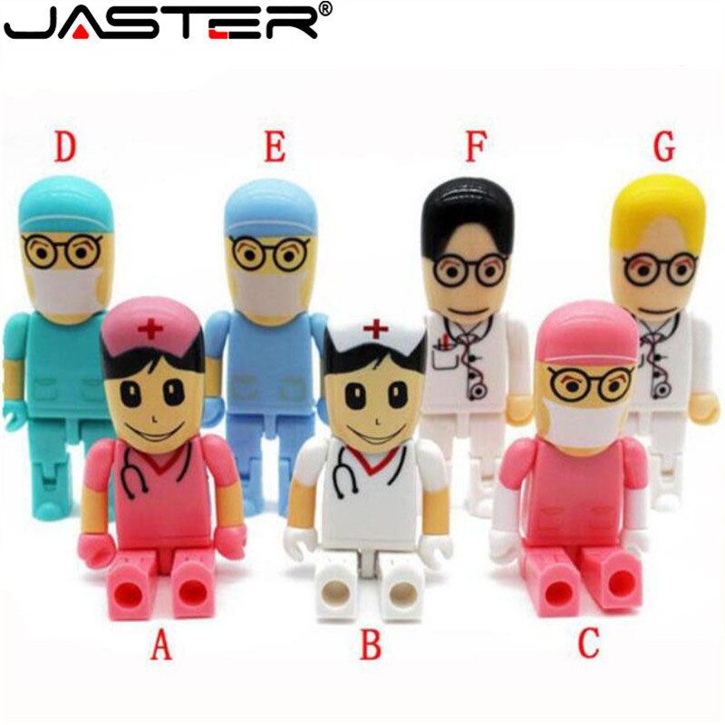 JASTER Brand New College of Surgeons Doctor USB 2.0 Memory Stick pen drive 4GB 8GB 16GB 32GB 64GB USB flash disk gift image