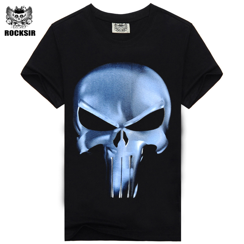 Mens t Shirts Fashion 2016 Summer Men's Wear 3D Printed Skull t shirt Homme Brand Clothing Funny t Shirts Compression Shirt
