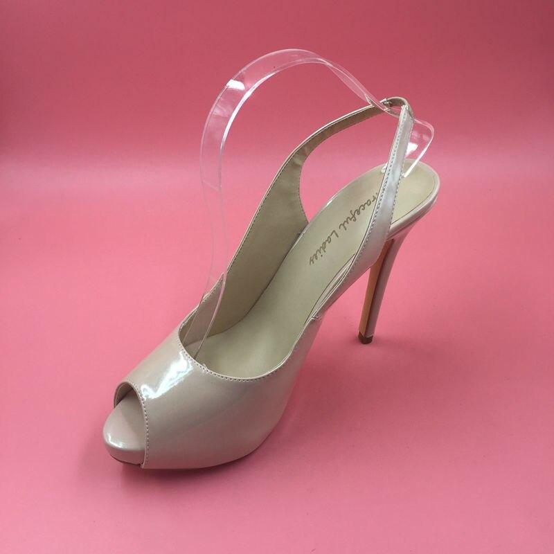 <font><b>Nude</b></font> <font><b>Patent</b></font> <font><b>Leather</b></font> Pump Women <font><b>Peep</b></font> <font><b>Toe</b></font> Dress Shoes Evening Party Shoes <font><b>High</b></font> <font><b>Heels</b></font> Shoes 2017 <font><b>Stilettos</b></font> Pumps Women Shoes