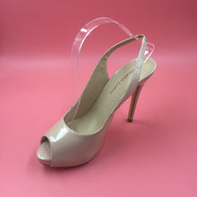 Nude Lackleder Pumpe Frauen Peep Toe Kleid Abendgesellschaft Schuhe High Heels Schuhe 2017 Stilettos Pumpen Frauen Schuhe
