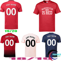 2018 Summer United Kingdom Manchester is Red Printed Men t shirt Plus Size Thai Quality Top Tees Men Camiseta