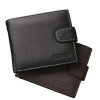 Wallet Men Wallets Genuine Leather Purse Luxury Designer Men Purse Card Holder Bifold Short Purse Clutch