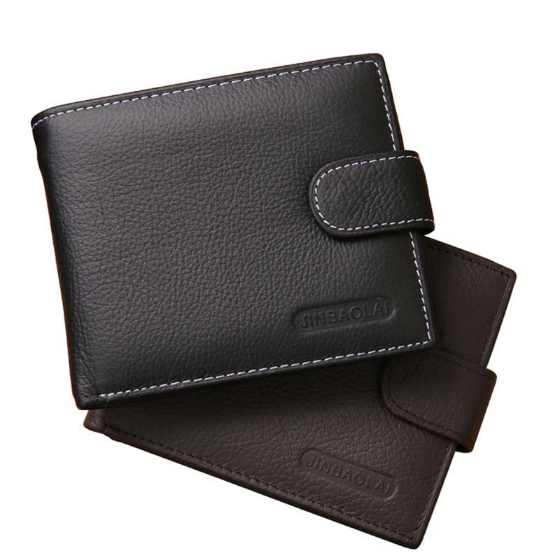 Wallet Men Wallets Genuine Leather Purse Luxury Designer Men Purse Card Holder Bifold Short Purse Clutch Coin Pocket Wallets