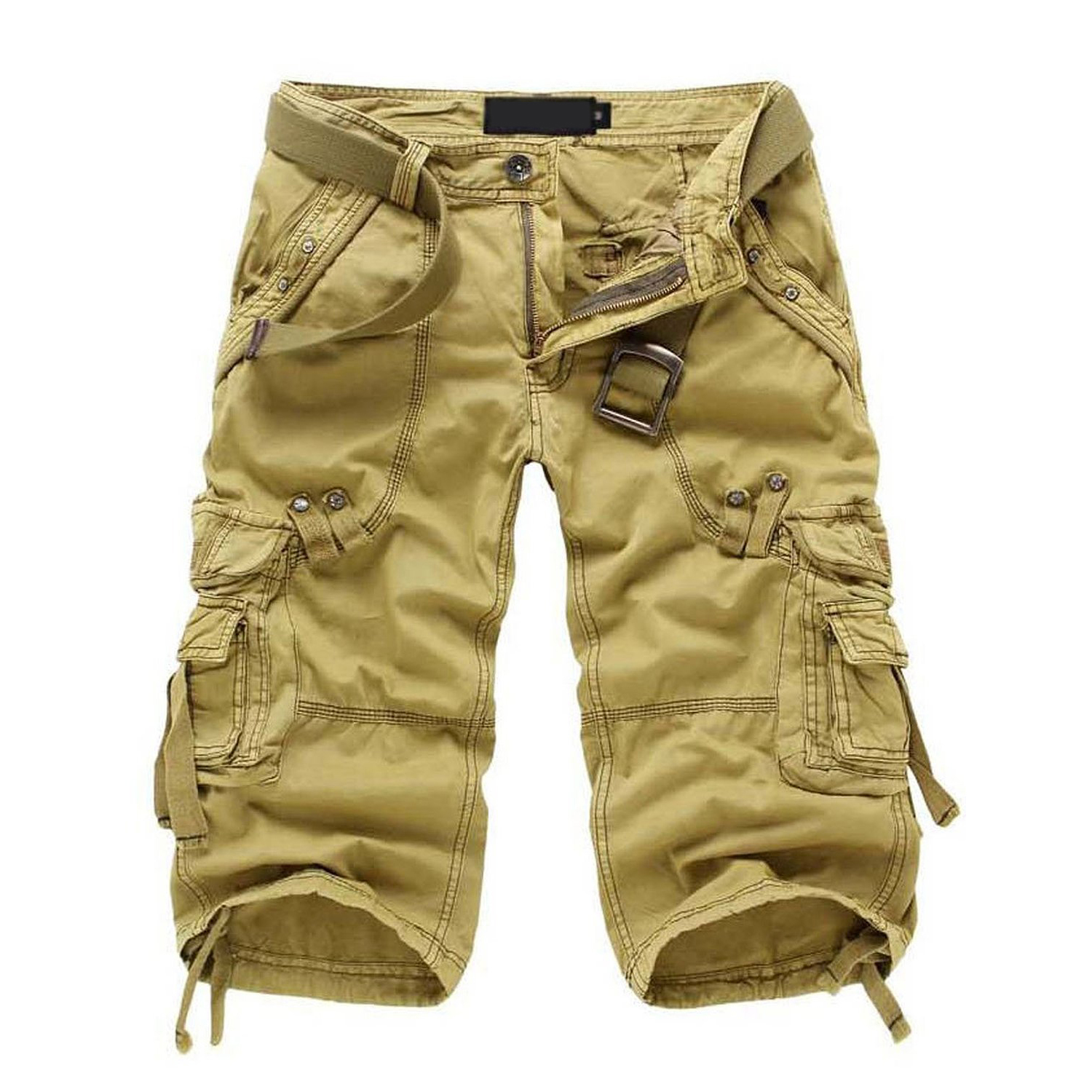 Online Buy Wholesale khaki capri pants from China khaki capri ...