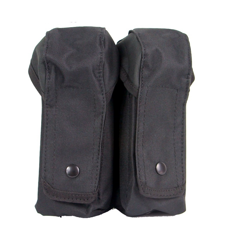 AK Tactical Molle Double Magazine Pouch Military Airsoft Paintball M4 Pistol Gun Mag Holder Hunting Vest Accessories Bag