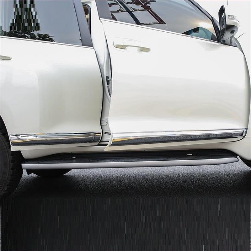 Auto corps aile miroir porte Automobile chrome modifié voiture style pièces protecteur 10 11 12 13 14 15 16 17 18 pour Toyota Prado