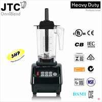Mélangeur Commercial JTC avec aide de cuisine PC jar, modèle: TM-800A, noir, 100% garanti, NO. 1 la qualité dans le monde