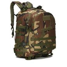 купить Aokali Tactical Mountaineering Bag 3D Outdoor Sports Military Camping Hiking Waterproof Travel Backpack дешево