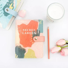 A6 Yiwi Good Quality Simple Snap Felt Notebook Diary Creative Binder Office Supplies Ring Binder