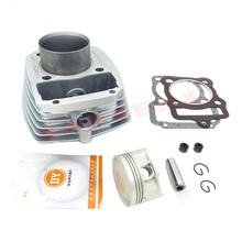 Engine Parts Motorcycle Cylinder Piston Ring Gasket Air-cooled Kit 67mm Bore For Zongshen CG200 CG 200 198CM3 200cc xr250 piston kit rings set motorcycle engine parts piston set for xr 250 25 cylinder oversize bore size 73 25mm new