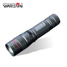 Warsun 268 люмен мини удобный светодиодный фонарик вспышки света Перезаряжаемые Масштабируемые лампы Фонари linternas фонарик для Охота zoom8