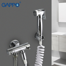 GAPPO Bidet Faucets bidet rinse works  hygienic shower bidet toilet sprayer muslim shower wall mounted washer mixer tap все цены
