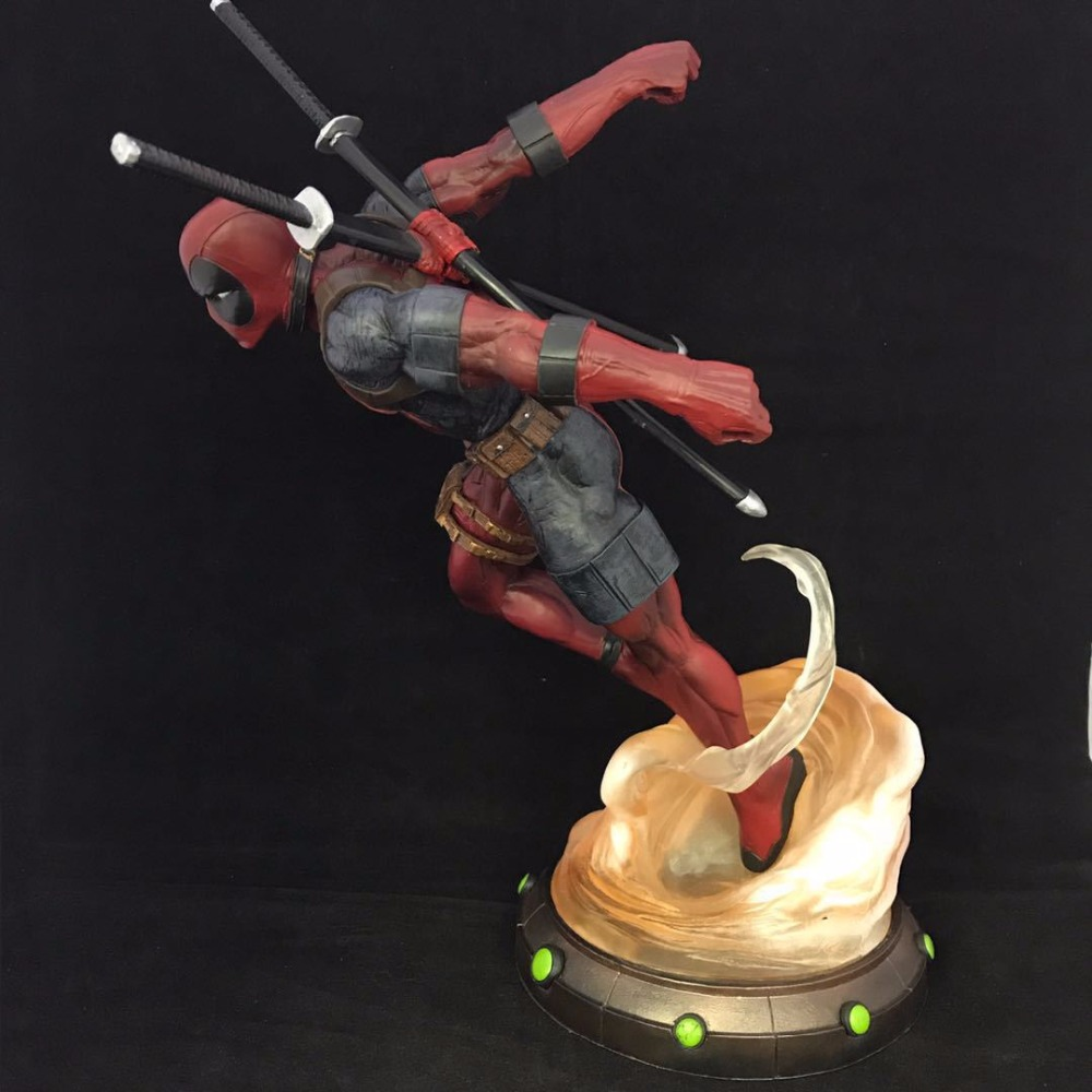 27CM Hot Sale Comic Hero Deadpool Wolverine X-MEN Play Arts Model PVC Toy Action Figure Decoration For Collection Gift hot sale movie super cool deadpool action figure toy marvel deadpool display decoration doll collection children juguetes gift