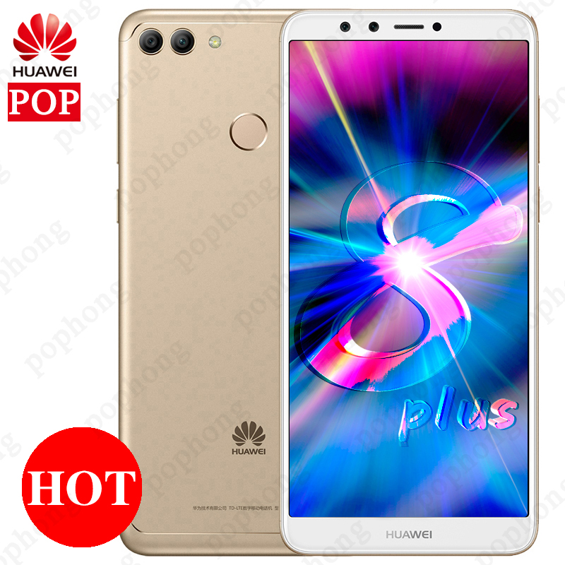 Global Firmware Huawei Y9 2018 Enjoy 8 Plus 5 93 Dual Front Camera Cell Phone Android