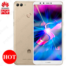 Global Firmware Huawei Y9 2018 Enjoy 8 Plus 5.93'' Dual Front Camera Cell Phone Android 8.0 Octa Core Kirin 659 Dual SIM 4000mAh(China)