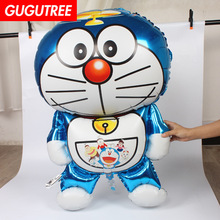 Decorate 105*66cm robot machine cats foil balloons wedding event christmas halloween festival birthday party HY-158