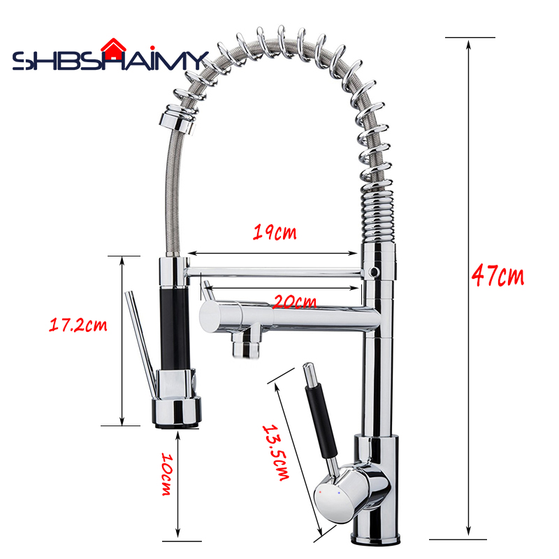 SHBSHAIMY-Chrome-Polished-Pull-Out-Kitchen-Faucet-Dual-Spouts-360-degree-Two-Modes-Hot-and-Cold (3)