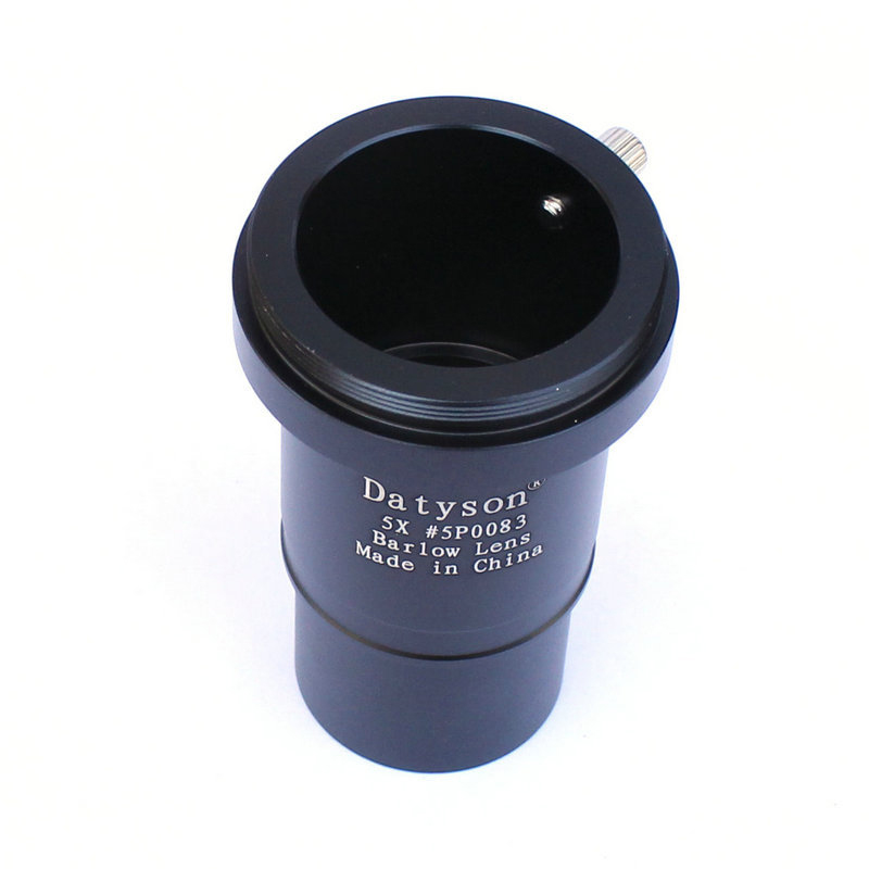 """Image 2 - 5x Barlow Lens 1.25"""" Fully Multi Coated Metal Thread M42 for Astronomical Telescope Eyepiece Ocular Accept T Ring-in Monocular/Binoculars from Sports & Entertainment"""