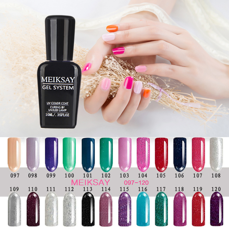 2017 Candy Color White Gel Nail Polish For French Nail Tips 10ml ...